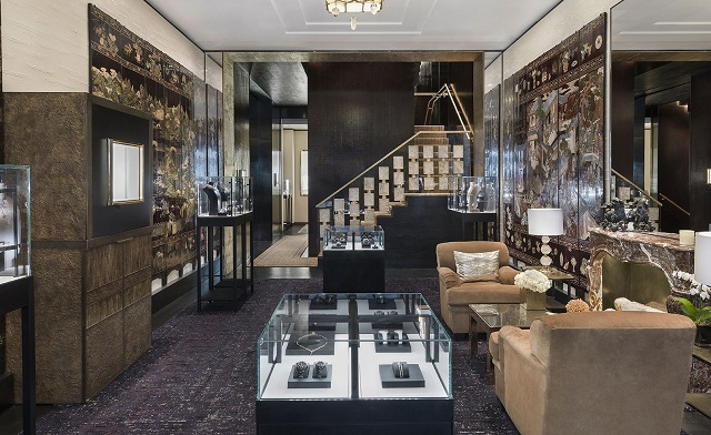 London s new chanel luxury boutique designed by peter marino Interior design stores london