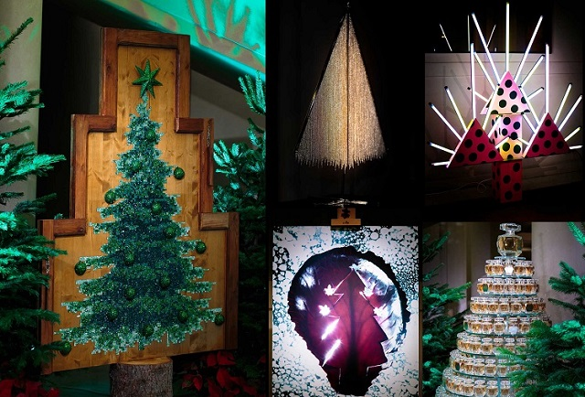 THE WORLD'S MOST LUXURIOUS CHRISTMAS TREES 2015