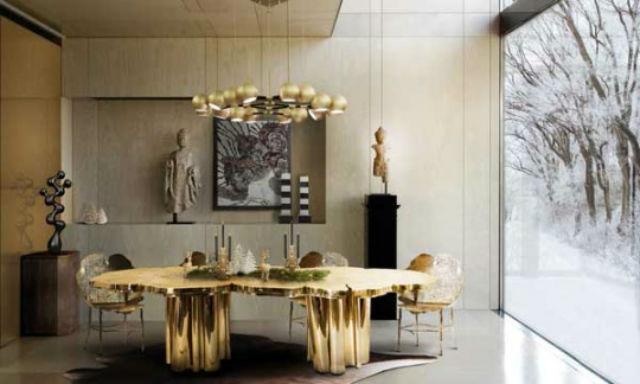 Fortuna Dining Table by Boca Do Lobo