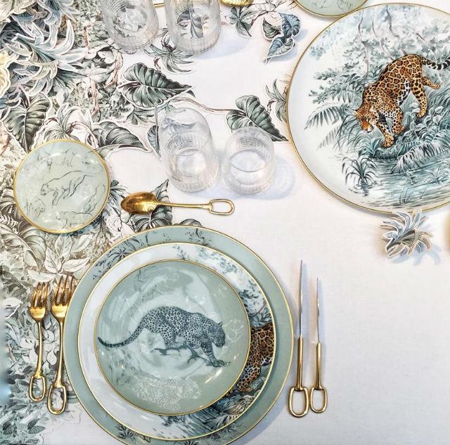 Latest Porcelain Service By Hermés (1)