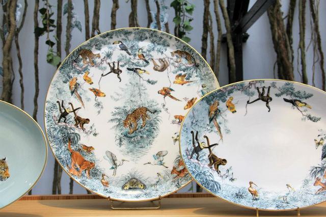 Latest Porcelain Service By Hermès