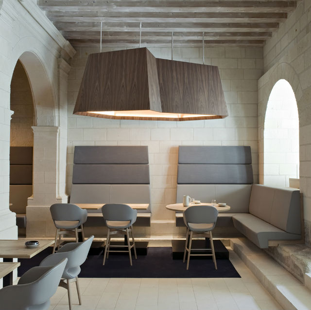 boutique hotel Fontevraud (5) Patrick JouinFamous Interior Designers – Patrick Jouin Redesigns A Boutique Hotelboutique hotel Fontevraud 5