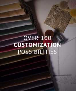 Over 100 customization possibilities