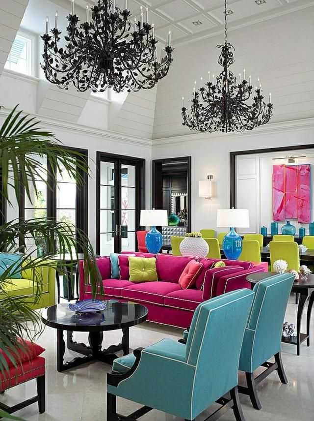 Bold Color Combinations  Bold Color Combinations Bold Color pink green blue