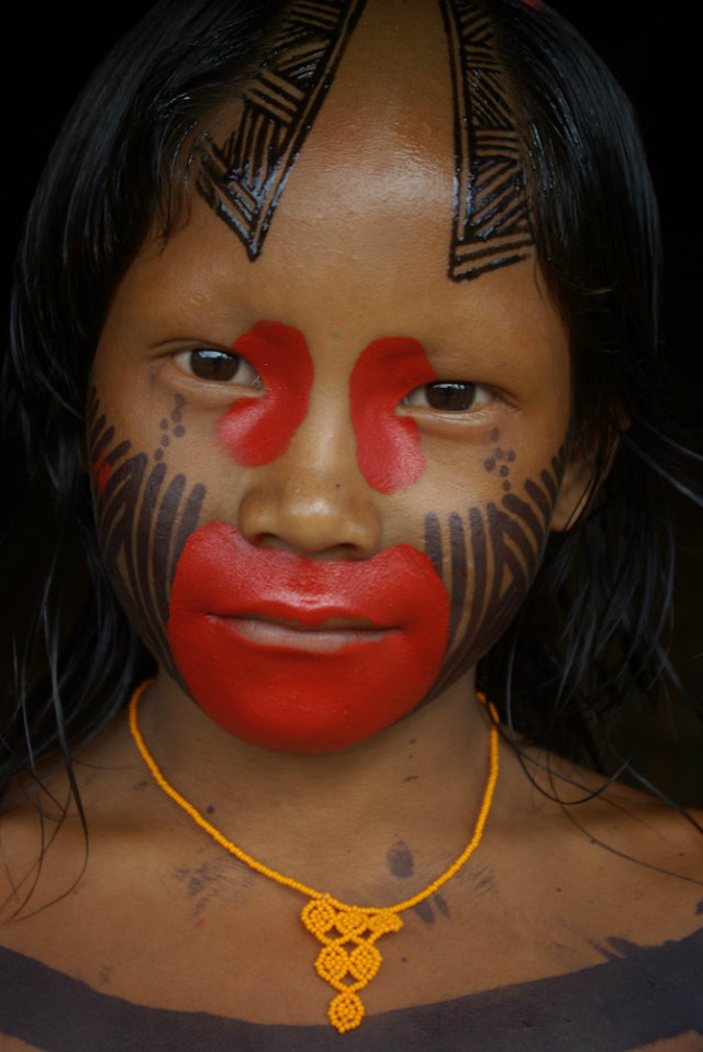 Design Inspiration from Indigenous Worlds  Design Inspiration from Indigenous Worlds Brazilian Indigenous kid
