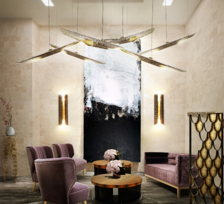 Great Look for a Timeless Design Hotel Reception