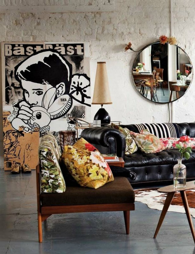 Eclectic look living room inspiration ideas brabbu for Vol interieur argentine