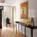 Etnic Chic Entrance and Foyer Design