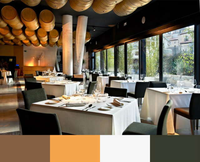 RESTAURANT INTERIOR DESIGN COLOR SCHEMES interior design color schemes RESTAURANT INTERIOR DESIGN COLOR SCHEMES Hotel Viura by Designhouses Villabuena de Alava