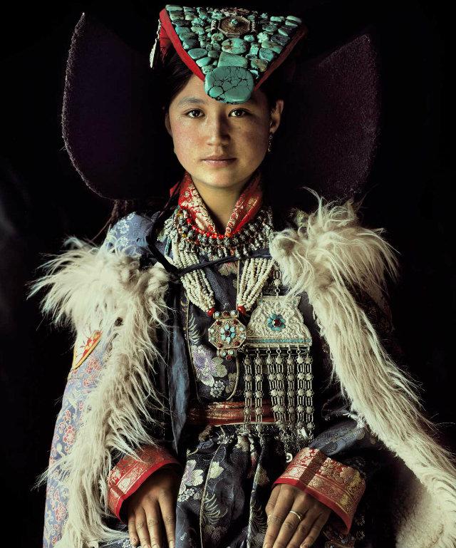 Design Inspiration from Indigenous Worlds  Design Inspiration from Indigenous Worlds Ladakh Girl Portrait