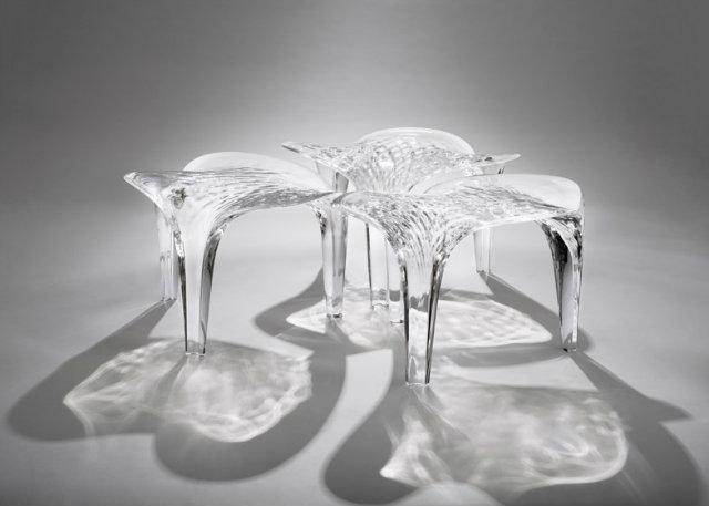 Zaha Hadid Expands Her Liquid Glacial Art Collection   Zaha Hadid Expands Her Liquid Glacial Art Collection Liquid Glacial Zaha Hadid dezeen 784 2