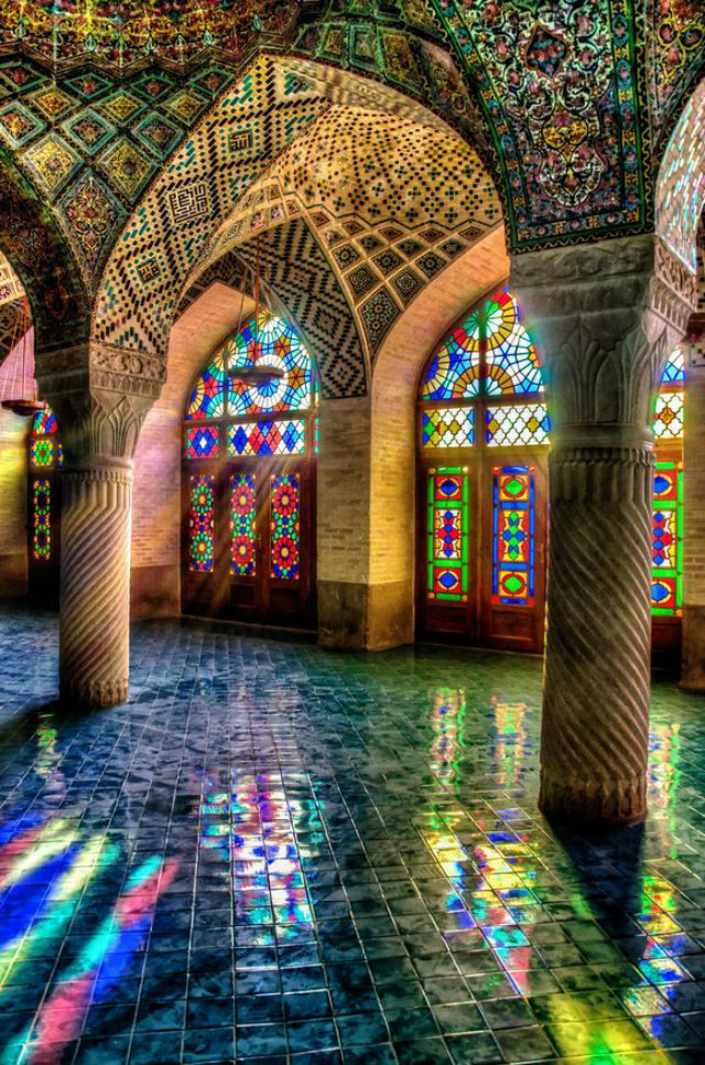 Rich and Powerful Iranian Mosques  Rich and Powerful Iranian Mosques Mosque Iran all colours