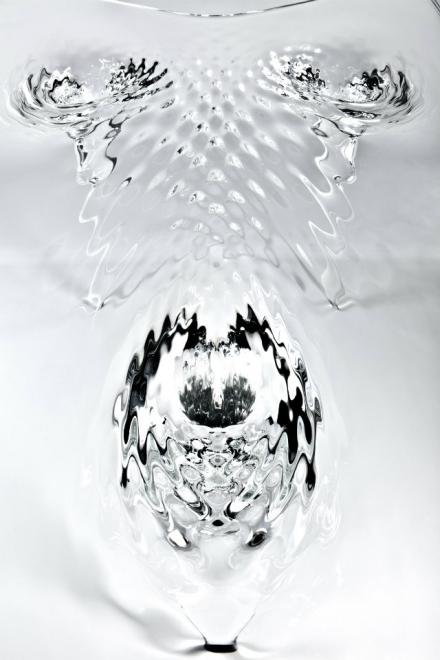 Zaha Hadid Expands Her Liquid Glacial Art Collection