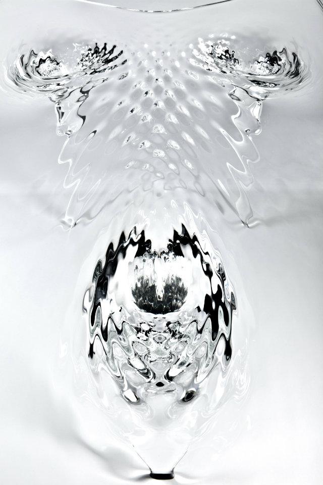 Zaha Hadid Expands Her Liquid Glacial Art Collection  Zaha Hadid Expands Her Liquid Glacial Art Collection Zaha Hadid Glacial Art