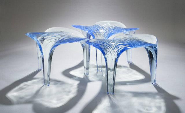Zaha Hadid Expands Her Liquid Glacial Art Collection   Zaha Hadid Expands Her Liquid Glacial Art Collection ZahaHadid2