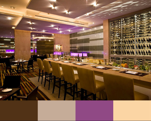 Arestaurant Interior Design Color Schemes Restaurant Art