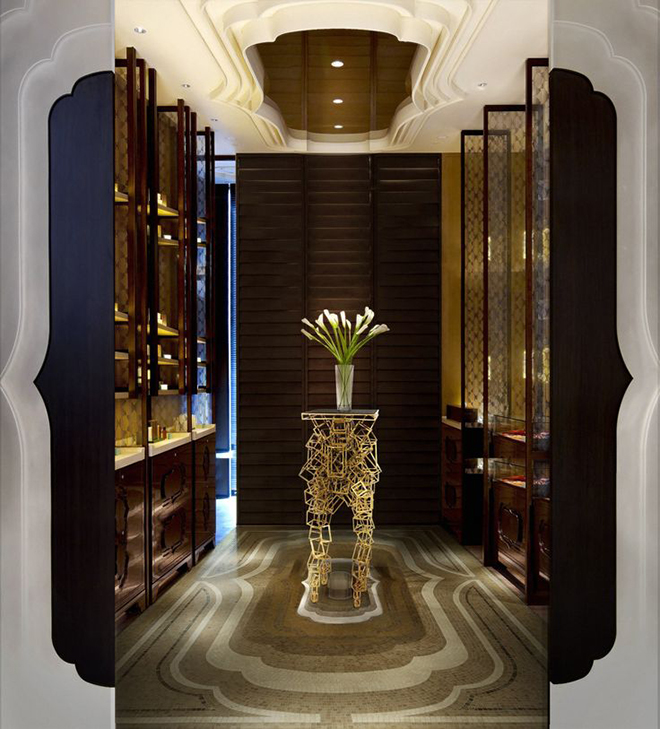 Luxury Design Hotel Shop expensive modern living room with devotation artwork decor