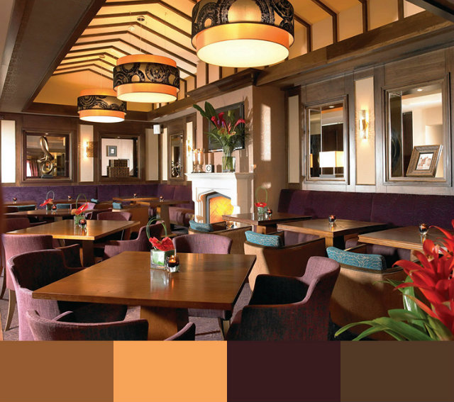 Interior Deisgn: RESTAURANT INTERIOR DESIGN COLOR SCHEMES