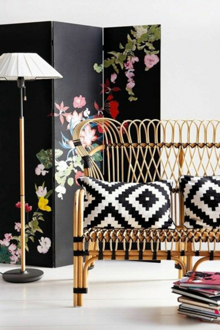Great ideas to divide spaces using folding screens