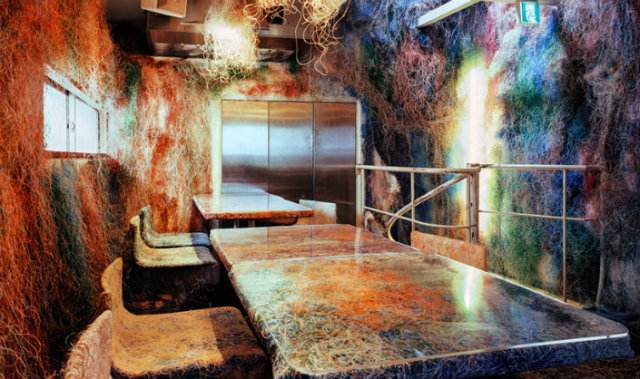 kengo-kuma-tetchan-restaurant-interior-tokyo-japan-designboom-01  Explosion of Colors kengo kuma tetchan restaurant interior tokyo japan designboom 01