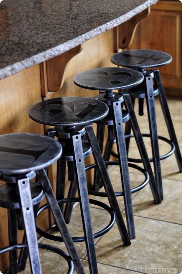 metal stools 1  Inspiring Styles to Go: Top 5 Metal Counter Stools metal stools 11