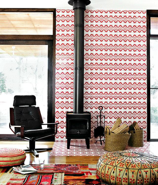 SATURATED COLOR SCHEMES  SATURATED COLOR SCHEMES IDEAS modular beachside getaway living room