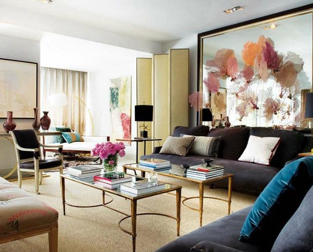 Living Room  - A place for Art  Living Room – A place for Art traditional stylish living room seafan display artwork