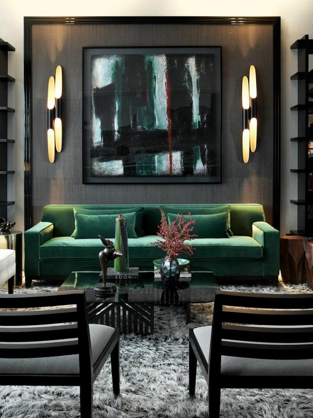 velvet 1  THE MASTER PIECE : modern living room set velvet 1