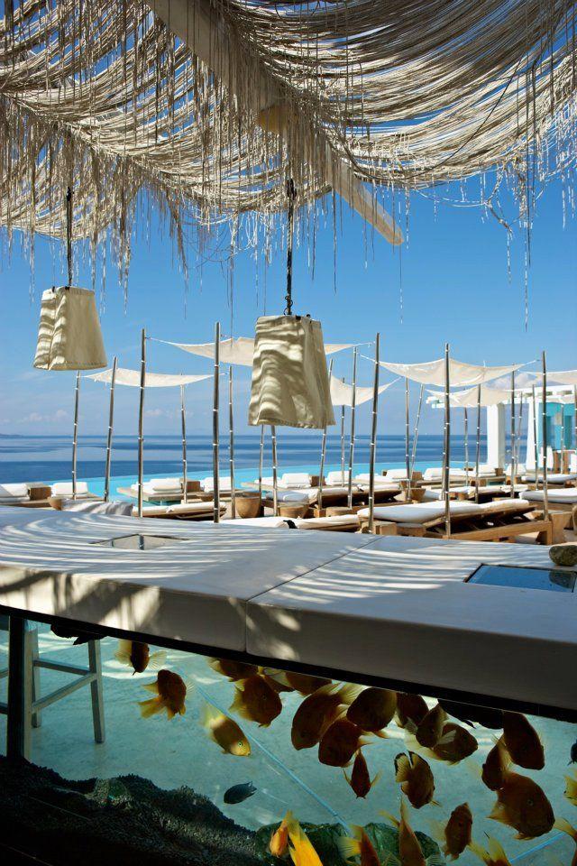 Beach bar an irresistible summer treat inspiration for Beach bar design