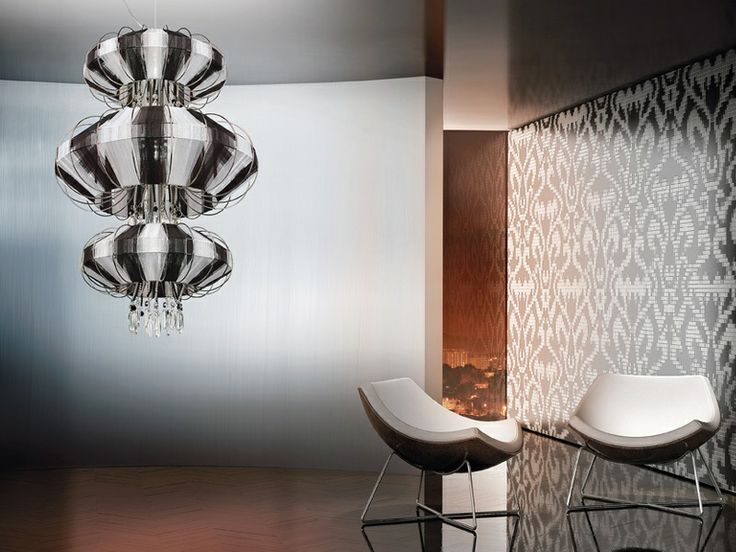 Hanging Light. The World of Chandeliers  Hanging Light Inspiration. The World of Chandeliers Black white chandelier white chairs