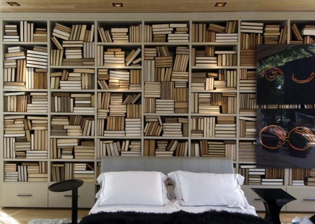 Bookshelves as an Exceptional Decor Detail  Bookshelves as an Exceptional Decor Detail Bookshelves interior decoration bedroom wall