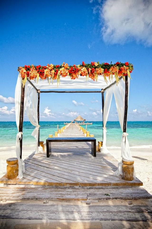 5 Unforgettable Wedding Destinations  5 Unforgettable Wedding Destinations Destination Wedding Mexico sea view