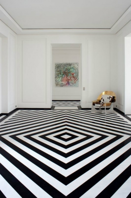 Mind Your Step! Luxury Pattern Floors