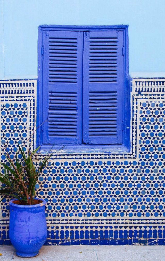 Happy Summer Patterns and Palettes  Happy Summer Pattern Trends and Colours for your projects Summer Patterns Blue Window Blue Tiles