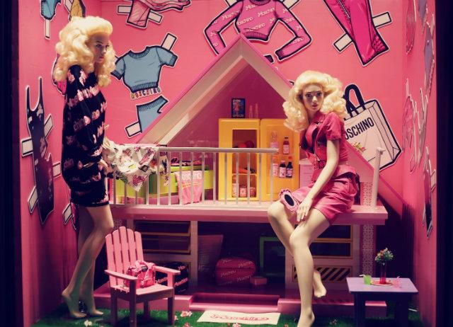 Summer WINDOW shopping? yes please  Summer WINDOW shopping? yes please Summer Window Barbie Moschino