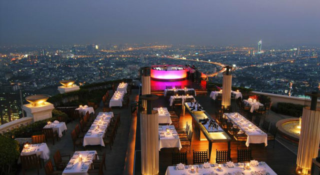 10 Stunning Design Hotels in Asia  10 Stunning Design Hotels in Asia Tower Club Al Lebua Bangkok