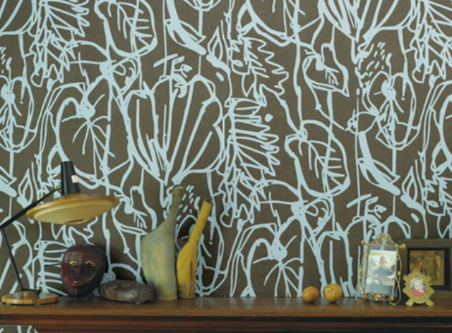 Wallpaper Ideas to Embellish your Home  Wallpaper Ideas to Embellish your Home amazing wallpapers beige and white flowers