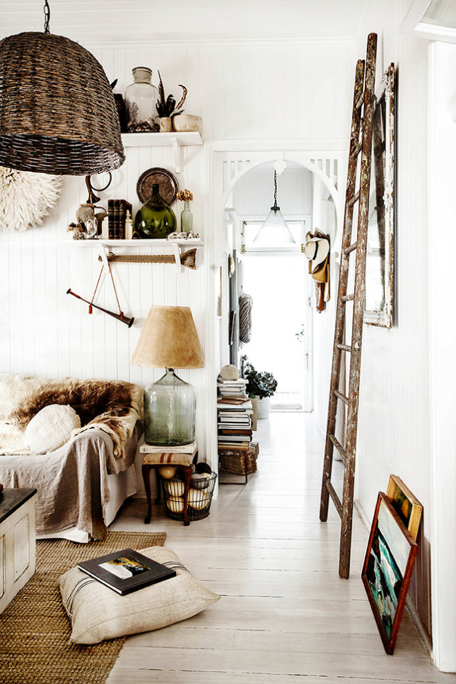Boho-Chic Ethnic Inspiration in Interior Design Projects ... on Modern Boho Decor  id=33115