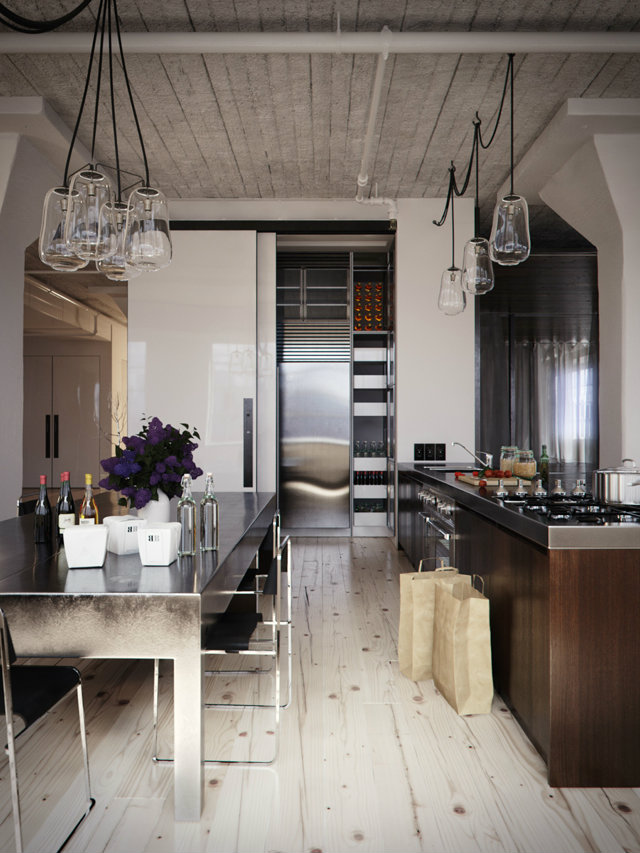 Kitchen Styles Inspirations  Kitchen Styles Inspirations industrial looking kitchen