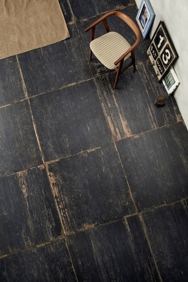 Mind Your Step! Luxury Pattern Floors  Mind Your Step! Luxury Pattern Floors patterned floor dark chair