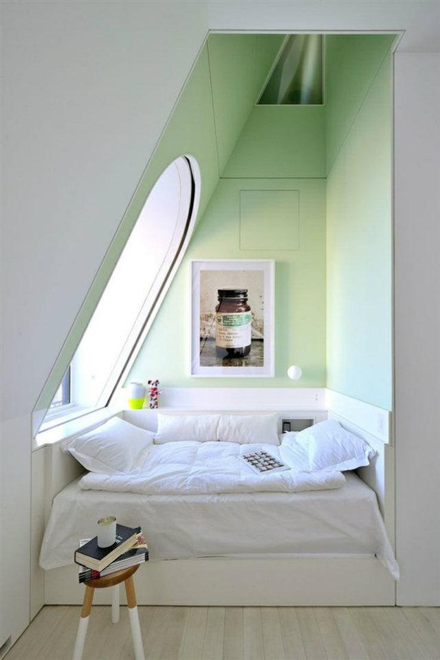 Your Secret Alcove Styles  Your Secret Alcove Styles secret alcove secret spaces green bedroom wall