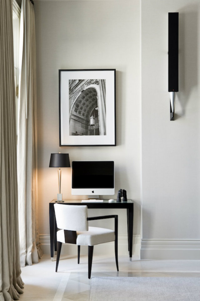 Small Black And White Home Office Inspirations Inspiration Ideas Brabbu Design Forces