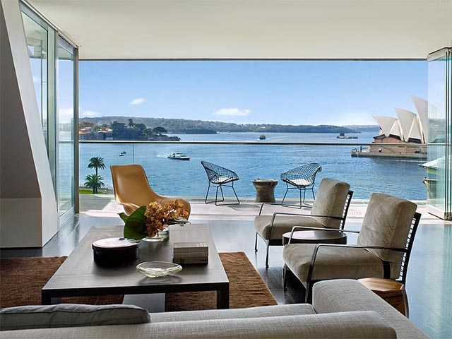 Inspiration Sydney Harbour Penthouse By Sarah Davison
