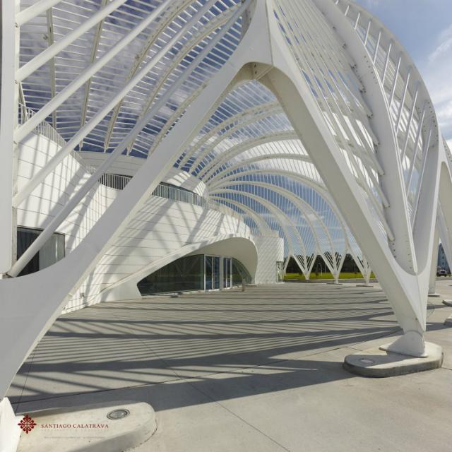 High Tech Modern Architecture Buildings: Best Design Inpiration By Santiago Calatrava