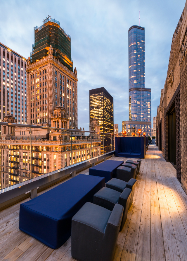 GET INSPIRED – Stunning Rooftops in Chicago - Cerise Rooftop at Virgin Hotel