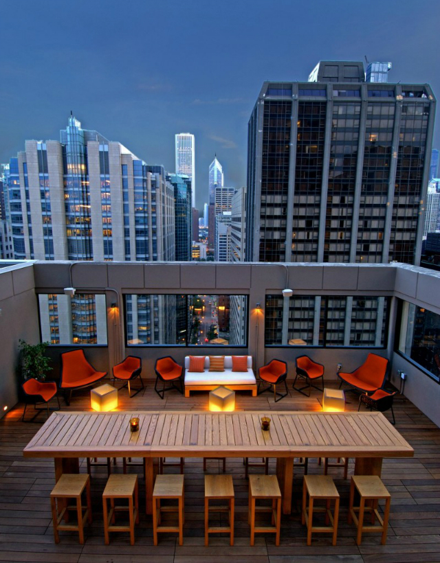 GET INSPIRED – Stunning Rooftops in Chicago - 52EIGHTY Rooftop Lounge at MileNorth Hotel  Chicago rooftop bars GET INSPIRED – Stunning Chicago Rooftop Bars Milenorth1