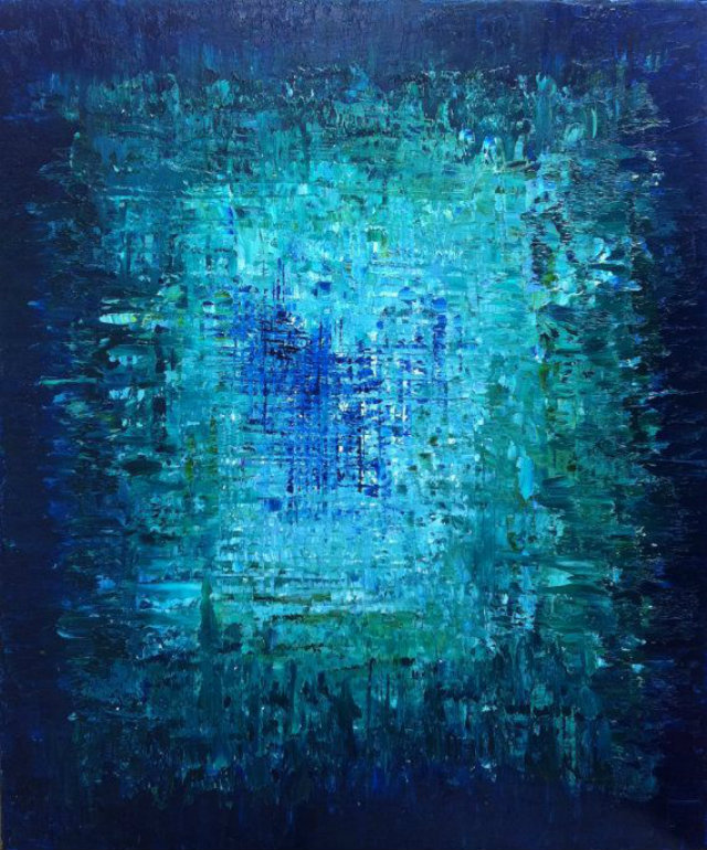 Blue painting images 79