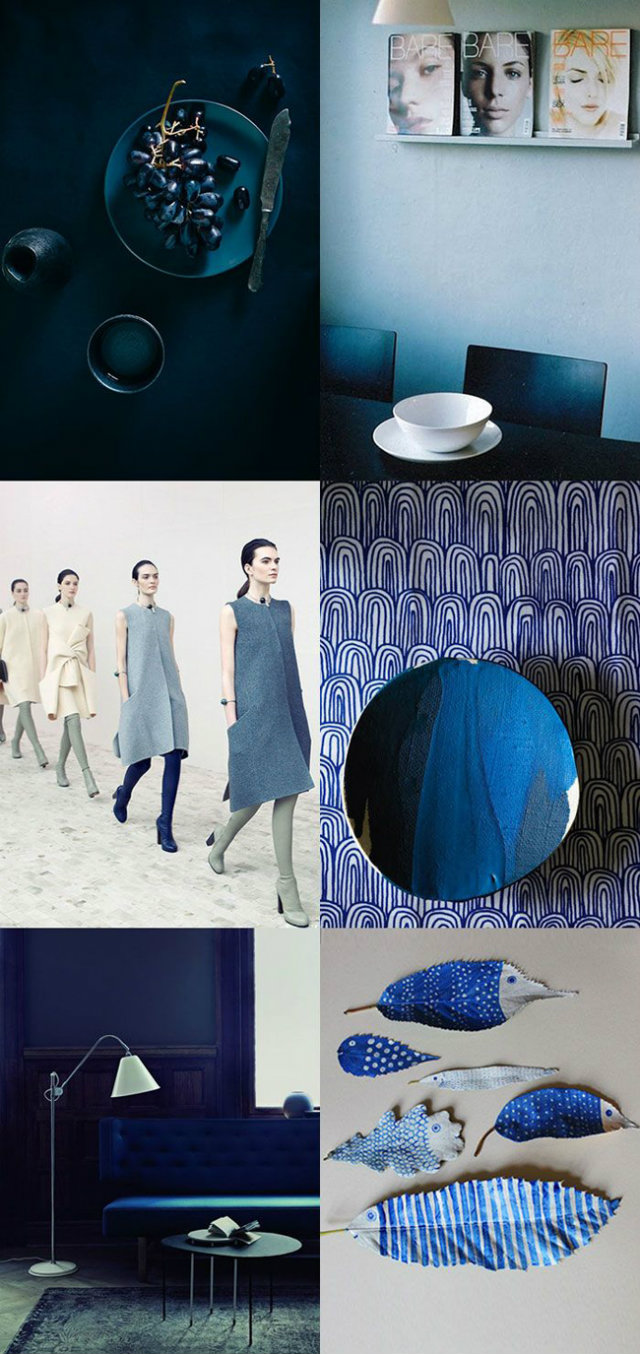 Ocean Deep Blue Mood Board  Deep Ocean Blue Mood Board Inspiration Mood Board Blue pics