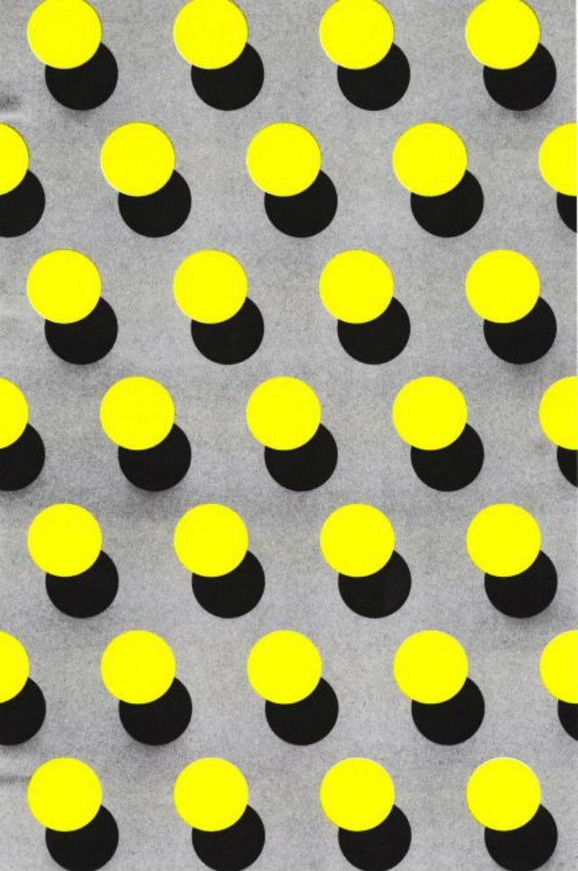 Polka-Dot Pattern Passion Mood Board  Polka-Dot Pattern Passion Mood Board Ideas Polka Dot Yellow Grey Black