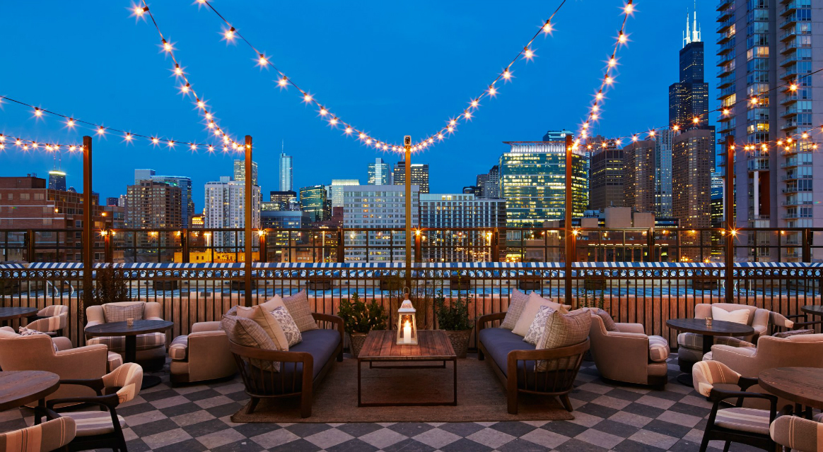 GET INSPIRED – Stunning Rooftops in Chicago - Soho House Chicago Chicago rooftop bars GET INSPIRED – Stunning Chicago Rooftop Bars Soho House Chicago